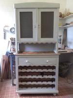 Bortárolós szekrény, Vintage-Provance-Shabby Chic