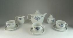 0N219 Alföldi porcelán teás készlet 3 személyes