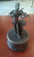 Zenélő, forgó szobor Johann Strauss