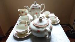 Royal Ivory KPM antik teás kávés készlet