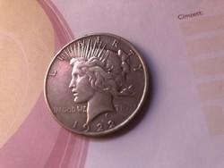 1922 USA ezüst 1 dollár 26,7 gramm 0,900 szép db