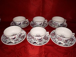 Antik Zsolnay teás készlet 1880