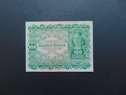 100 korona 1922 Szép ropogós bankjegy  01