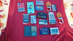 Hatalmas retro számológép gyűjtemény