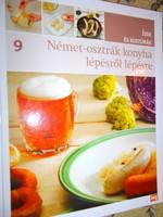 Német-Osztrák  konyha lépésről lépésre-Makulátlan állapotú szakácskönyv