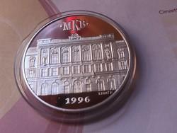 1996 MKB ezüst érme 31,1 gramm 0,999 PP