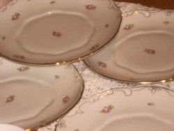 Hollóházi antik ritka tányér