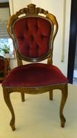Antik barok  4 szék