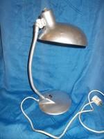 Retró fém gégecsöves asztali lámpa 1950 -60 as évek