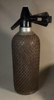 Antik drótfonatos szódás üveg