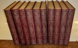 Victor Hugo összes regényei és elbeszélései sorozatból - 10 darab