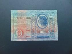 100 korona 1912 Szép ropogós bankjegy  01