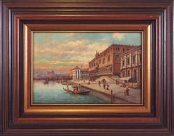 Ismeretlen festő: Velence, XIX. század (kb.1860-70)