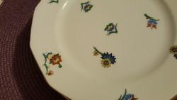 Régi, ritka és különleges, szemet gyönyörködtető mintájú Bohemia Eichwald desszertes tányérok!
