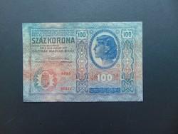 100 korona 1912 Szép ropogós bankjegy  02