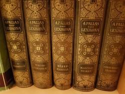 A PALLAS NAGY LEXIKONA / 5 kötet
