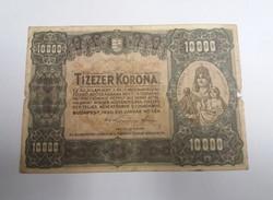 Ritka 10000 korona 1920.