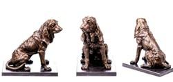 Óriási Vadászkutya - bronz szobor