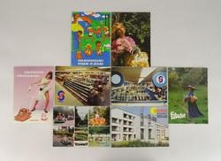 0V231 Retro képeslapok 8 darab