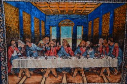Utolsó vacsora nagy méretű falikárpit