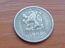 CSEHSZLOVÁKIA 20 HALERU 1981