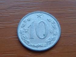 CSEHSZLOVÁKIA 10 HALERU 1965 ALU.