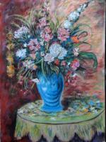 Iványi Grünwald Béla: Tavaszi virágcsokor