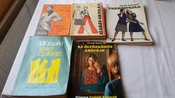 Szabás varrás könyvek eladó!