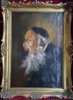 Rabbi festmény