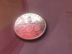 1995 ezüst 200 Ft Ritkább