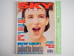 Sky magazin 1992/12 Juliette Lewis Faith No More Extreme Robert Downey Jr Kate Moss Paul Lawrence