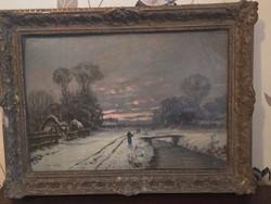 Rubovics Márk festmény