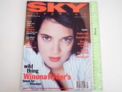 Sky magazin 1994/1 Winona Ryder Pearl Jam Black Crowes M Rourke Mark Wahlberg
