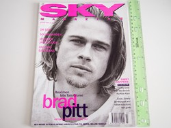Sky magazin 1994/3 Brad Pitt Soundgarden Antonio Banderas Dr Dre Jennifer J Leigh