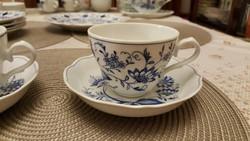 Két nagyon szép meisseni mintás Marienbad Ingres Weiss teásszett!