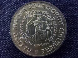 Az első magyar aranyforint ezüst 200 Forint 1978/id 6156/