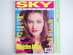Sky magazin 1992/2 Madchen Amick PM Dawn Wonder Stuff Jodie Foster Lori Elle Robia LaMorte