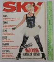 Sky magazin 1987 #9 Madonna Lethal Weapon Morrissey Pet Shop Boys