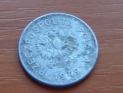 LENGYEL 1 ZLOTY 1949