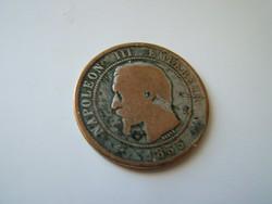 Dix Centimes III. Napoleon 1855 B