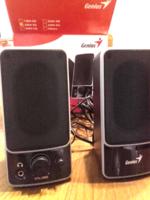 Genius SP-M120   2.0 ch.  Stereo Speakers - Aktív hangfal ,hangszóró