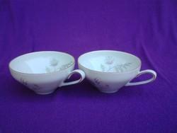 Zeh Scherzer Bavaria porcelán kávéscsésze 2 db