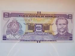 Honduras  2 lempiras 2014 UNC
