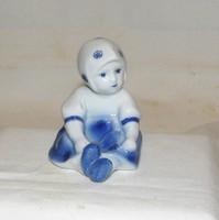 Zsolnay ritkább Annuska kislány figura