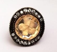 Vintage állítható méretű köves gyűrű