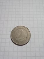Szép  2 Forint 1960 !