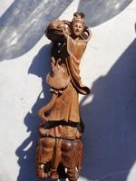 Antik, Szantál fa keleti szobor.