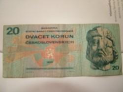 20 korona Csehszlovák