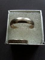 Ezüst karika gyűrű  2db
