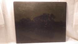 Várady Gyula 1916 tájkép festmény